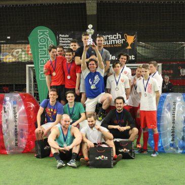 Rückblick & FM4-Interview: Indoor Bubble Football Turnier 2016