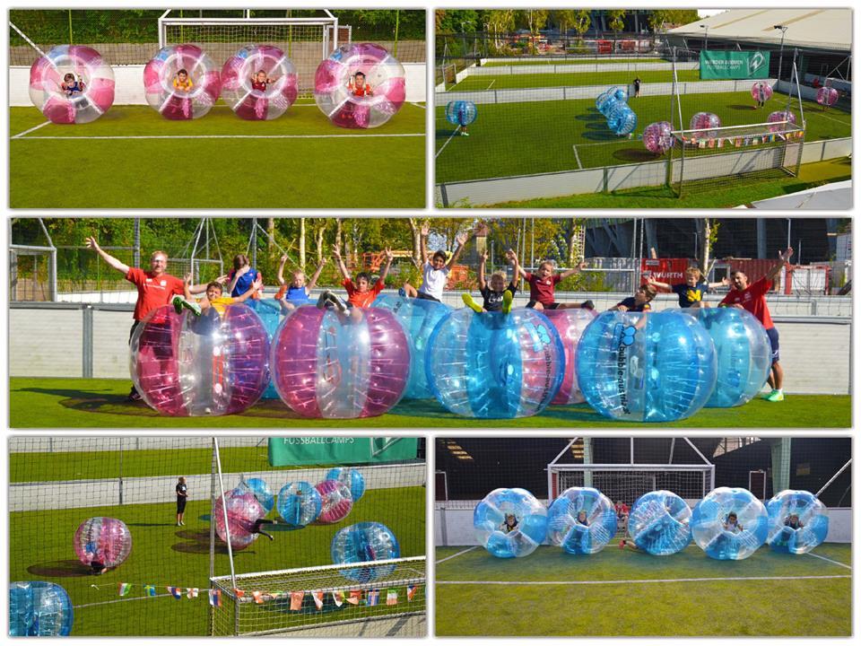 Bubble Football Kindergeburtstag